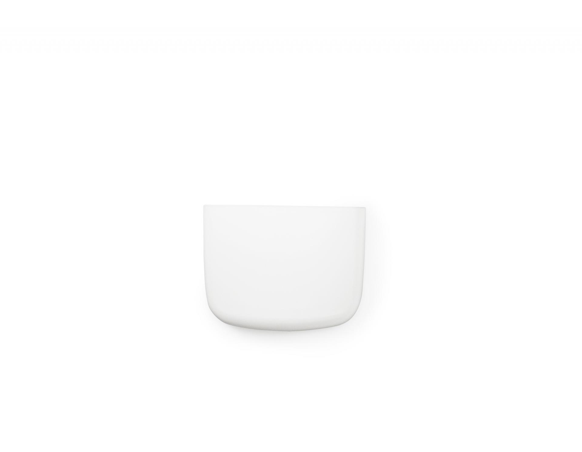 normann COPENHAGEN Nástěnný organizér White Pocket 2, bílá barva, plast