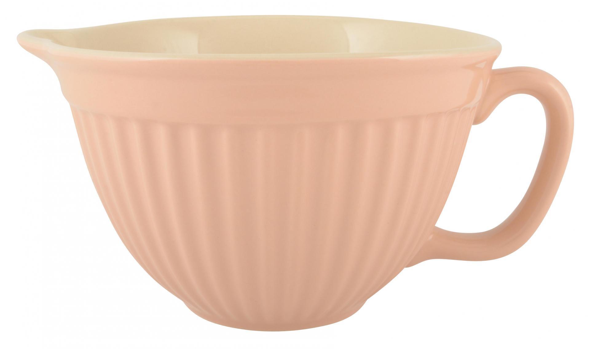 IB LAURSEN Mísa na těsto Mynte Vintage rose, růžová barva, keramika