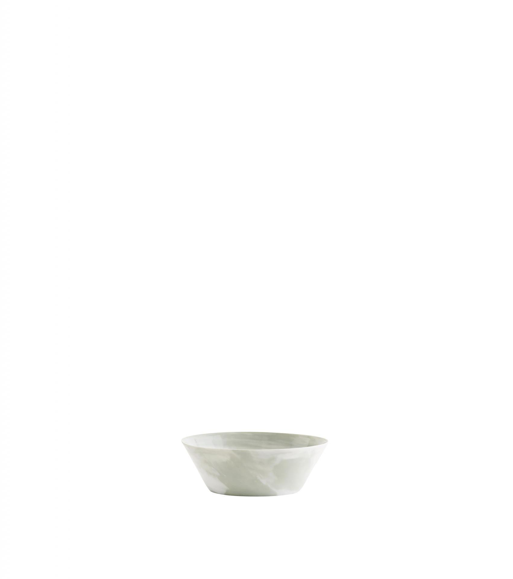 Madam Stoltz Porcelánová miska Marble Print