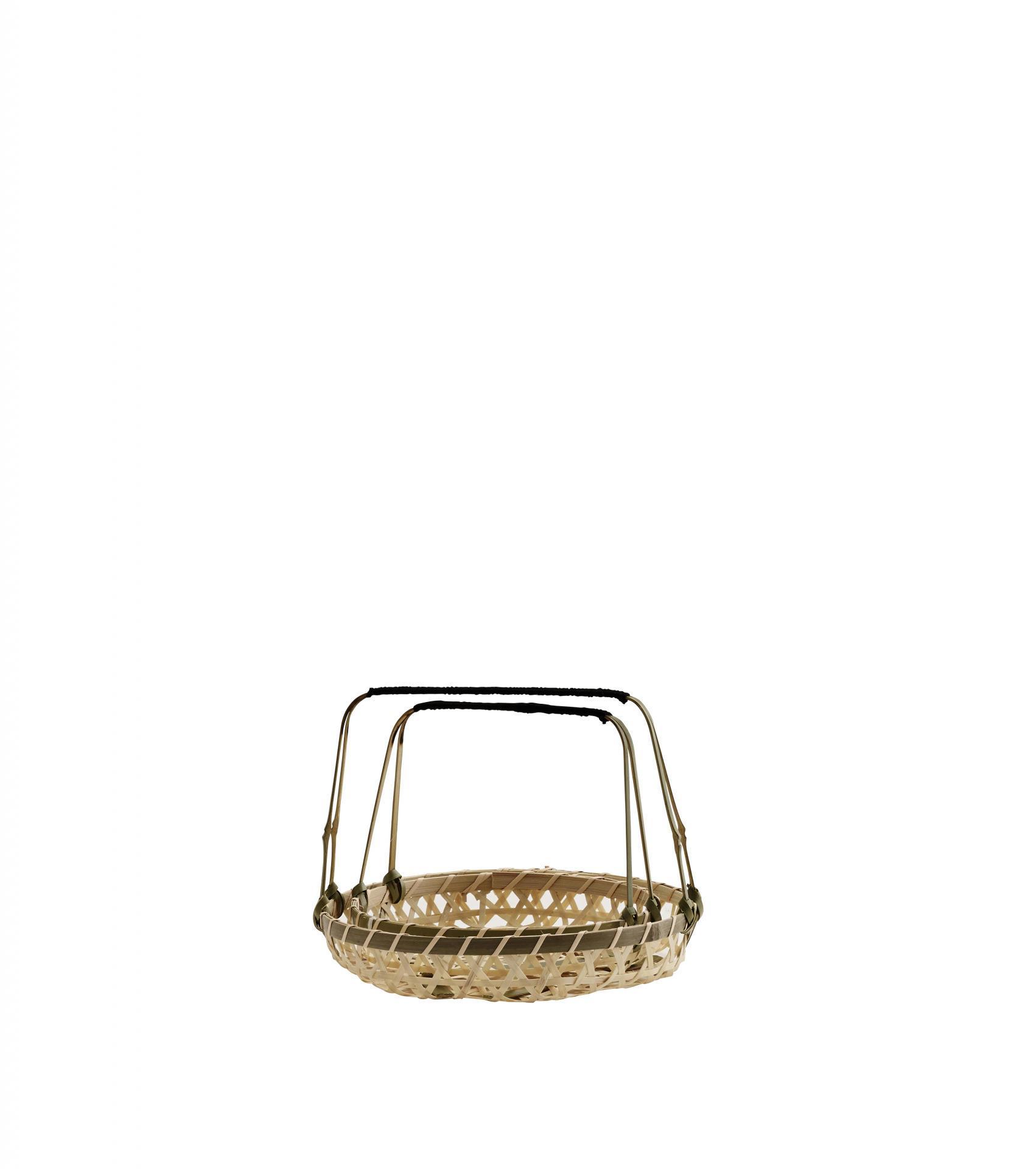 MADAM STOLTZ Prouténě košíky Baskets natur - set 2 ks, béžová barva, proutí