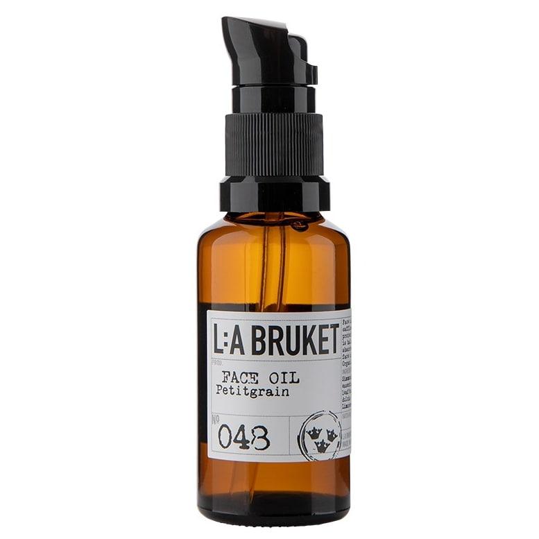 L:A BRUKET Pleťový olej z pomerančů 30 ml, hnědá barva, sklo