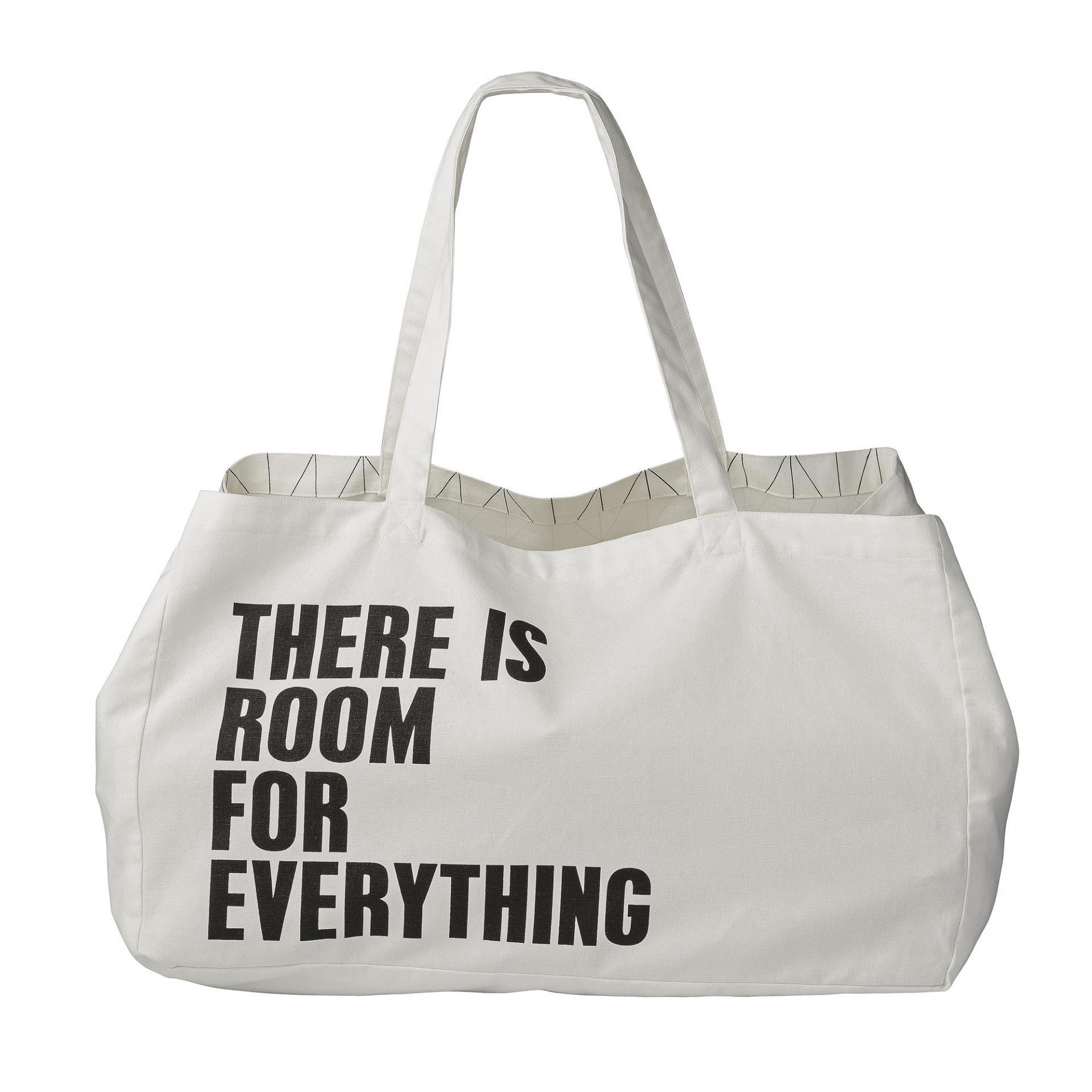 taška s nápisom