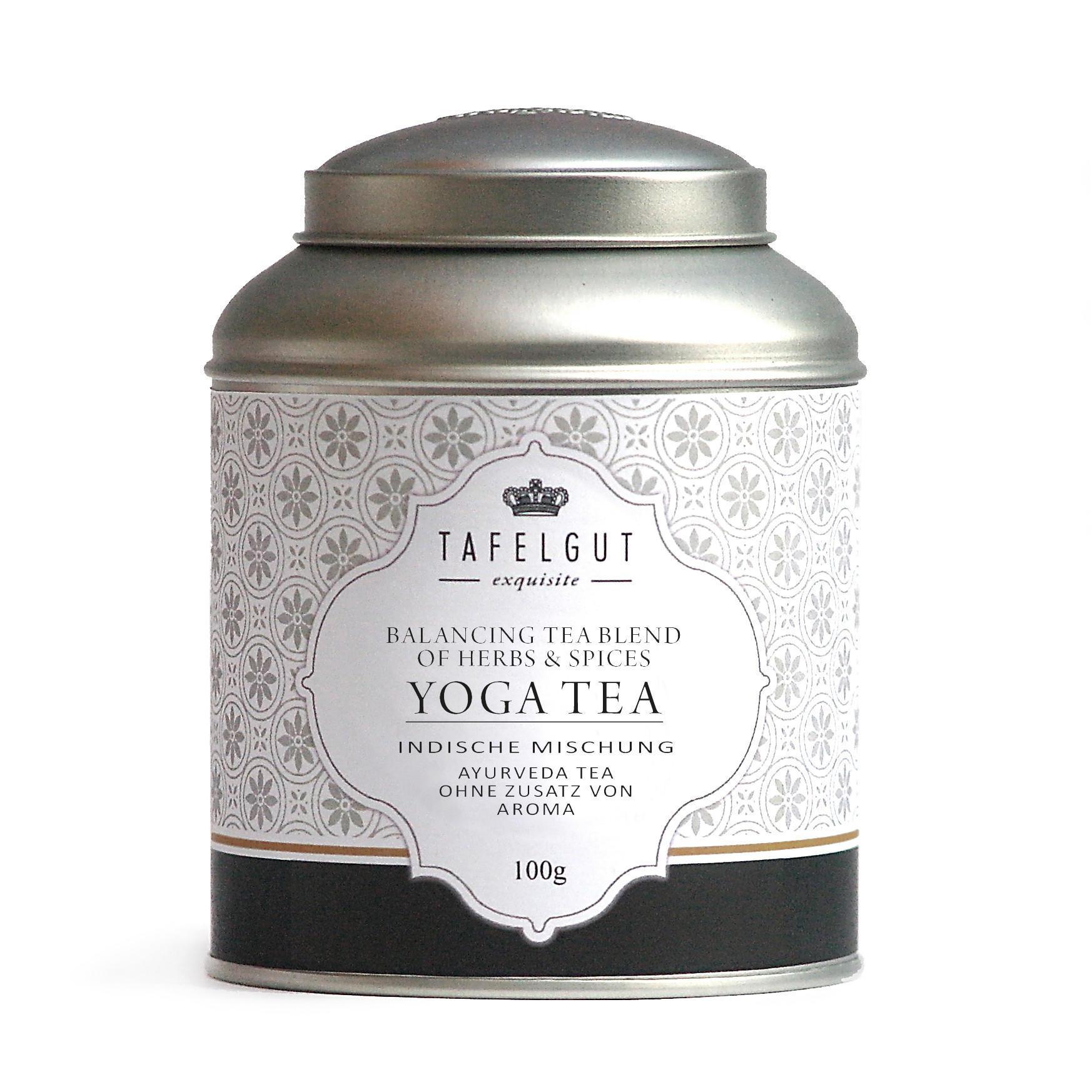 TAFELGUT Bylinný čaj Yoga - 100gr, černá barva
