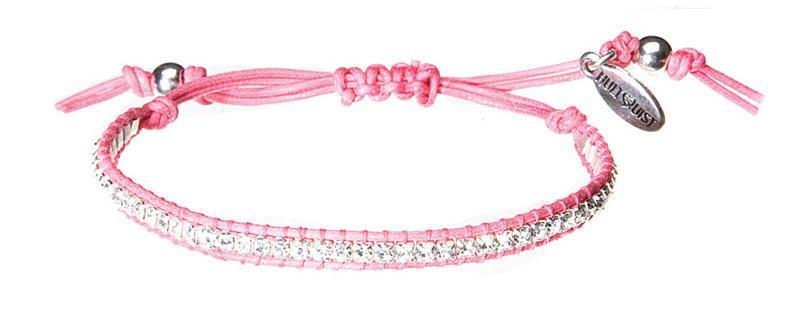 HULTQUIST Náramek Crystals silver pink, růžová barva B291007306E