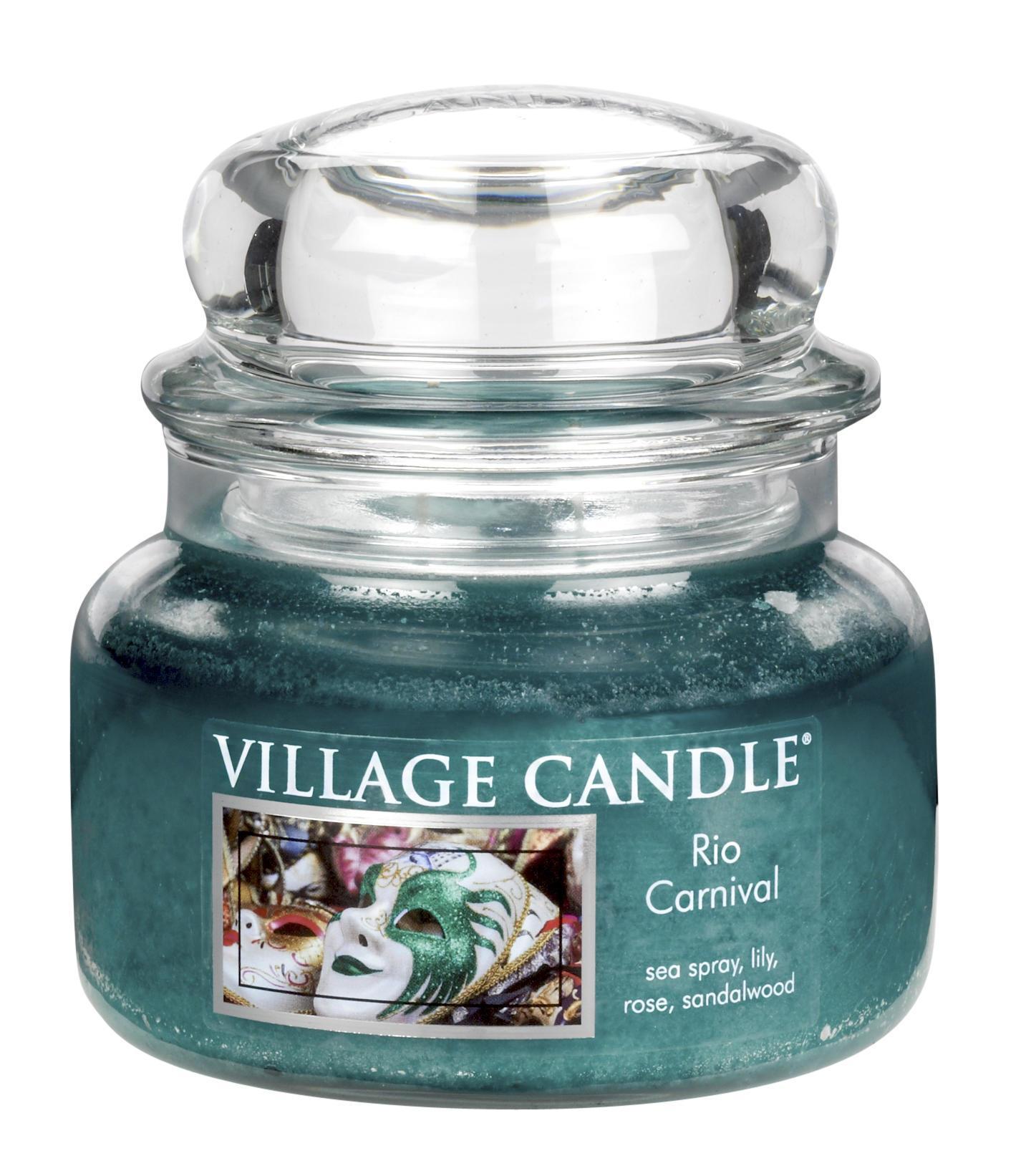 Village Candle Svíčka ve skle Rio carnival - malá