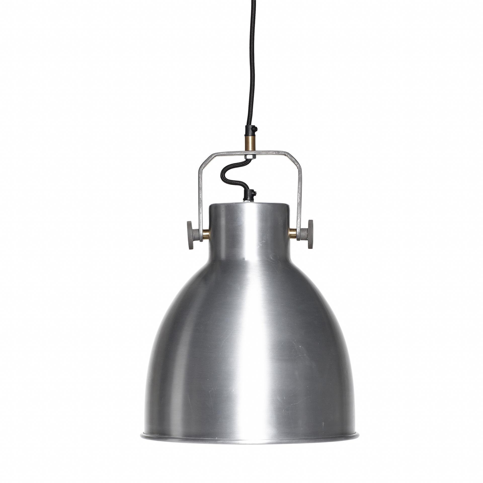 Hübsch Závěsná lampa Silver industrial, stříbrná barva, kov