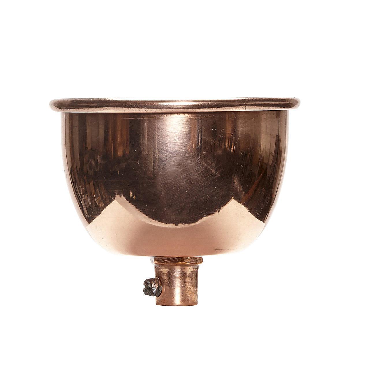 Hübsch Kovová krytka k lustru Copper, měděná barva, kov
