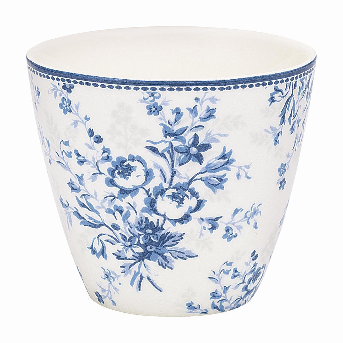 GREEN GATE Latte cup Sadie blue, modrá barva, porcelán 350 ml
