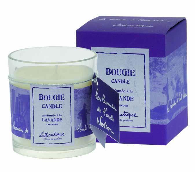 Lothantique Vonná svíčka Levandule, fialová barva