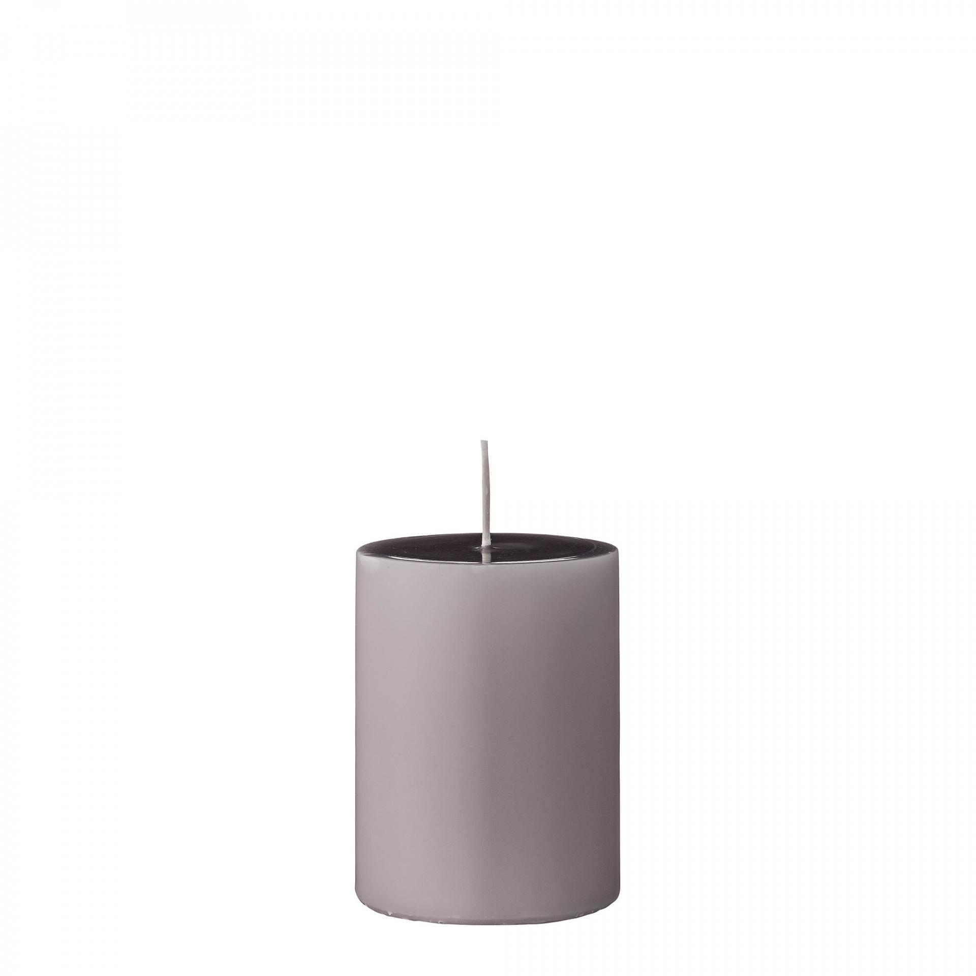 Bloomingville Svíčka Mauve 10 cm, fialová barva
