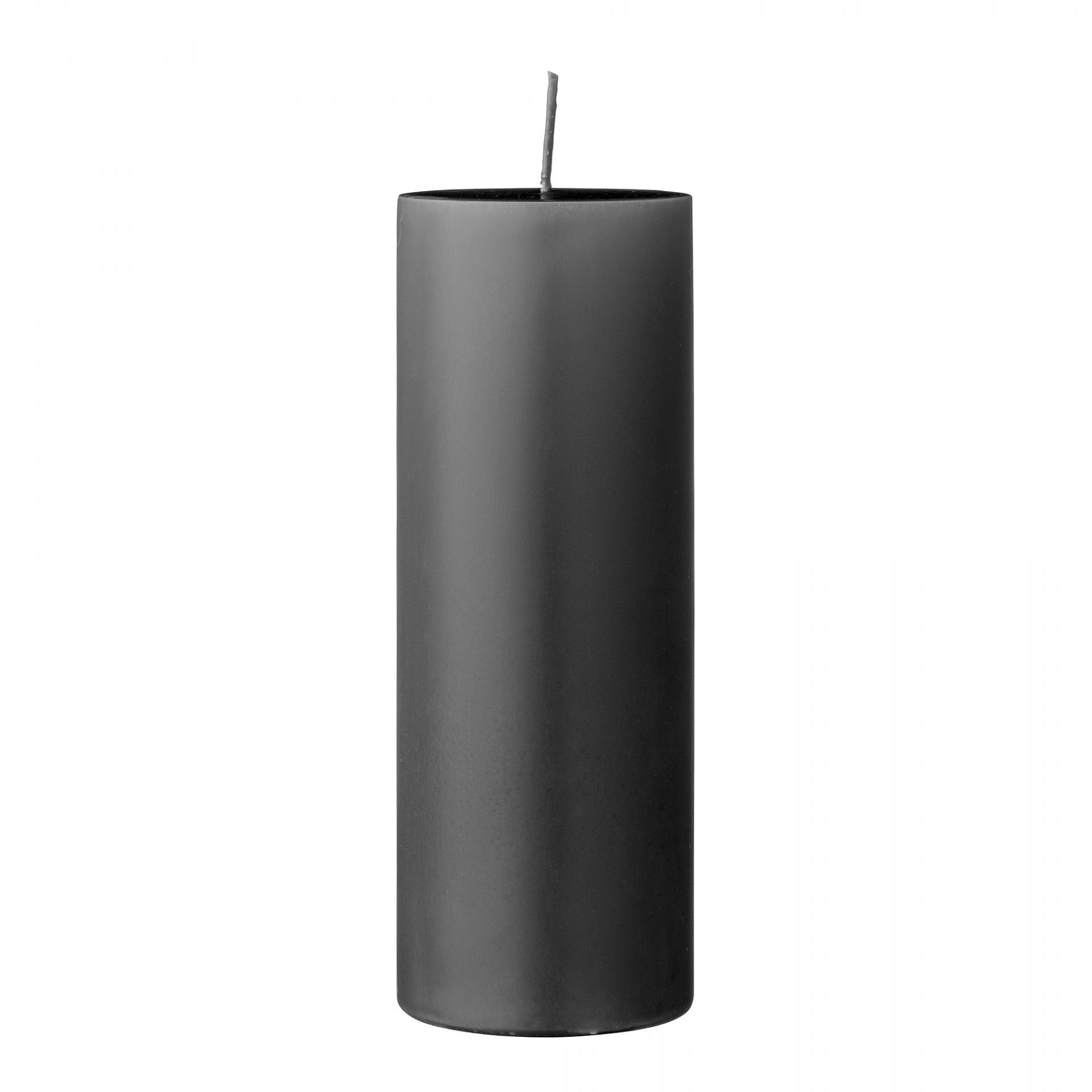 Bloomingville Svíčka Grey 20 cm, šedá barva