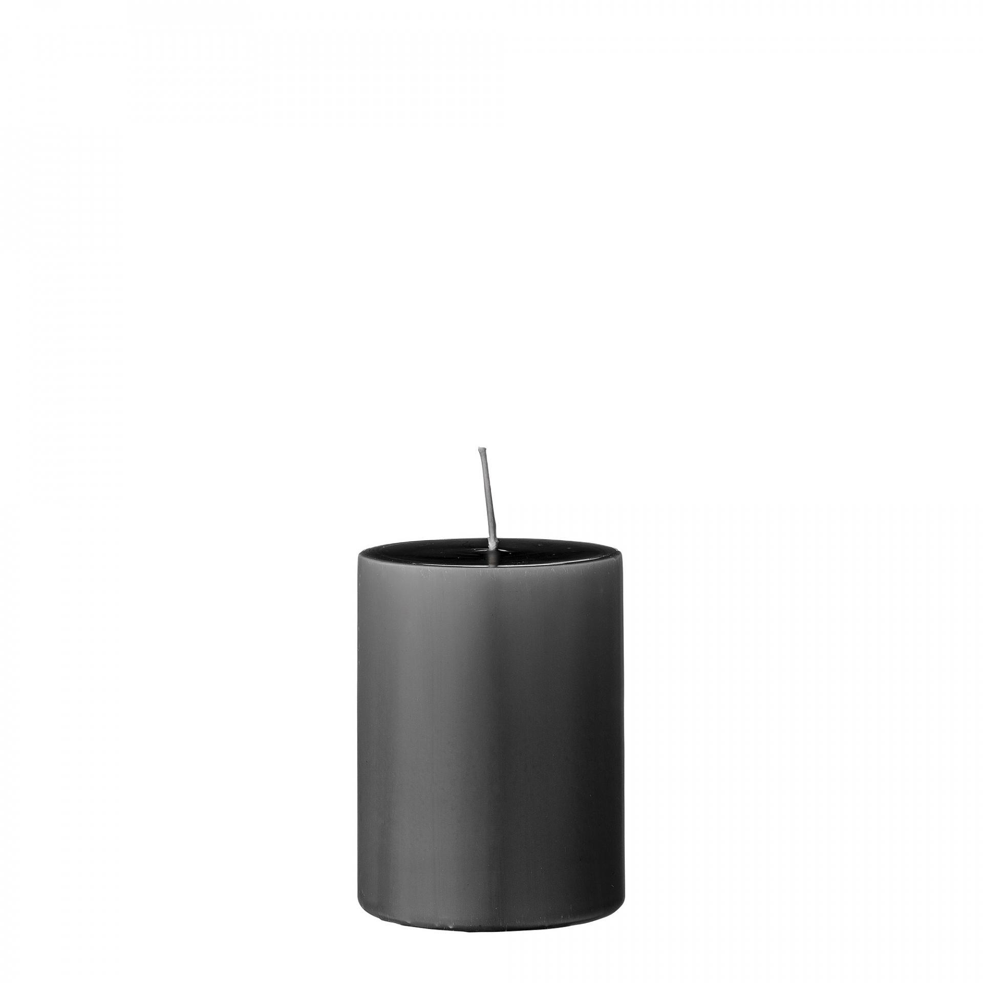 Bloomingville Svíčka Grey 10 cm, šedá barva