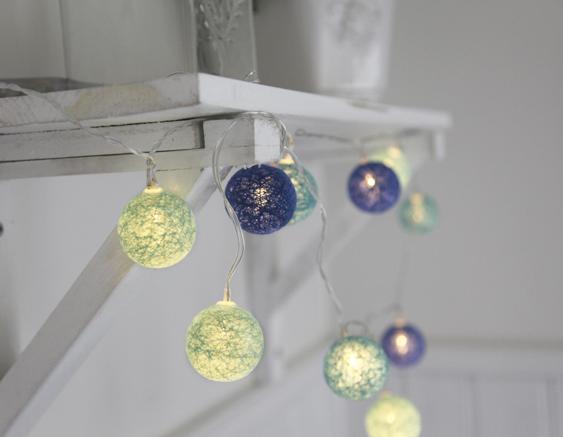 Star Trading Dekorativní svítící řetěz Blue Lights