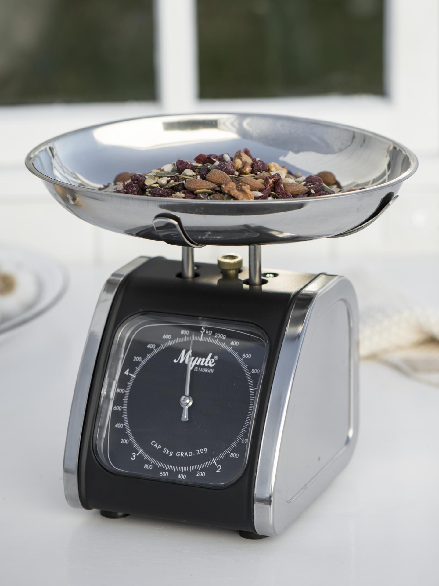 Retro kuchynská váha