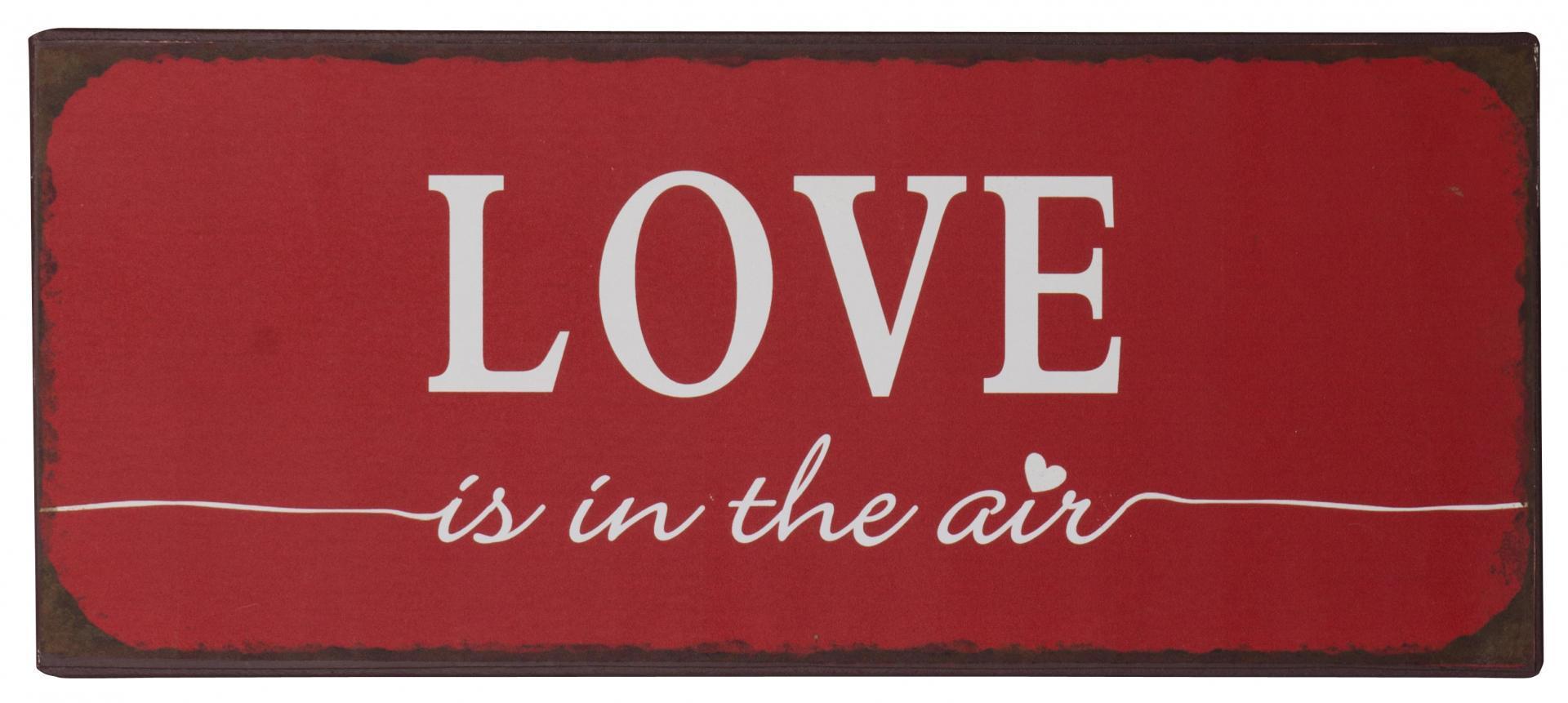závesná ceduľka LOVE