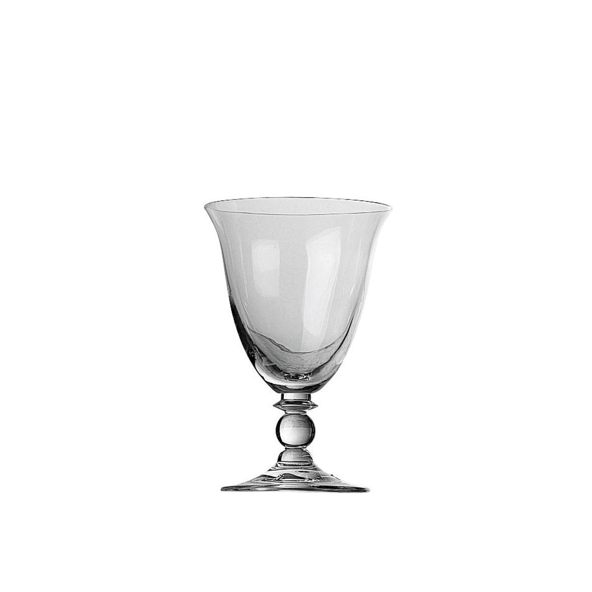 CÔTÉ TABLE Sklenička na víno Piano 250 ml, čirá barva, sklo
