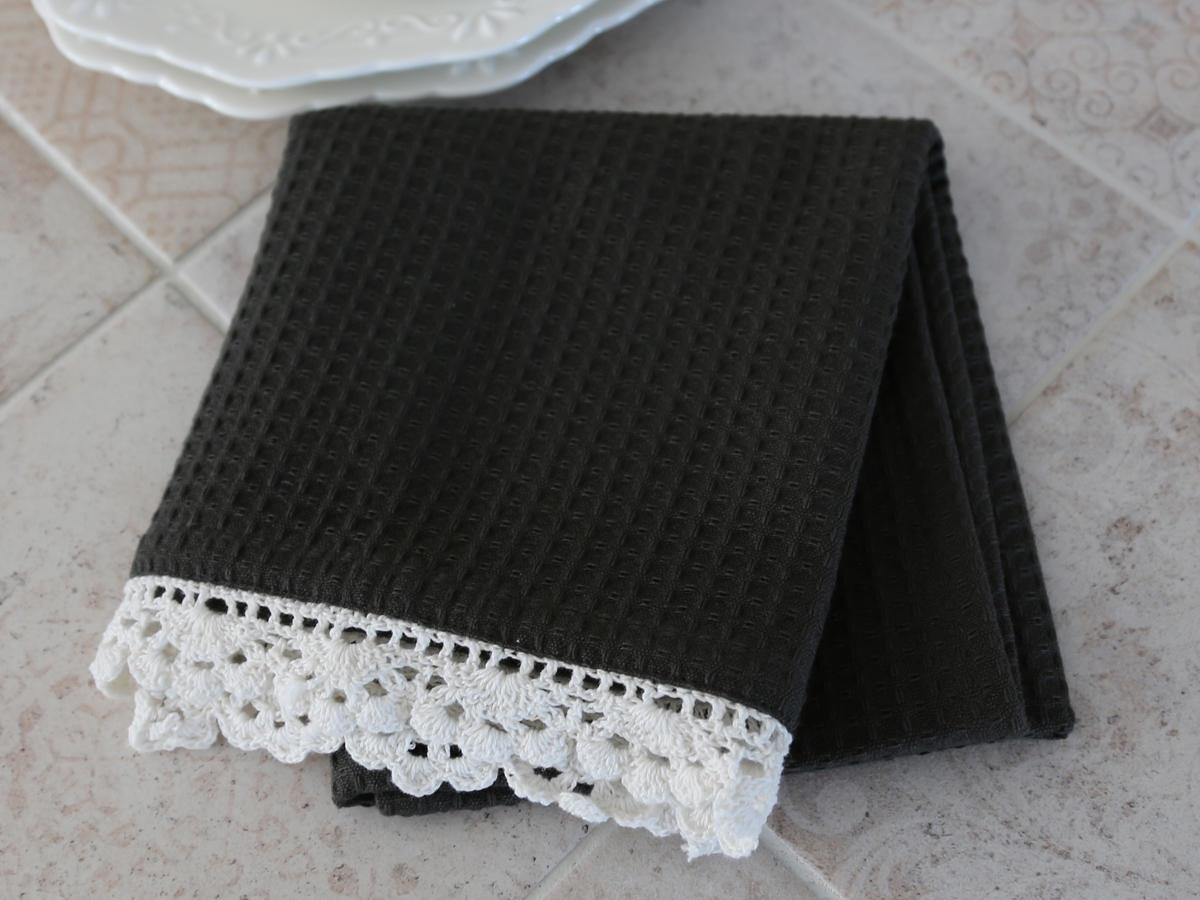 Chic Antique Utěrka Coal lace