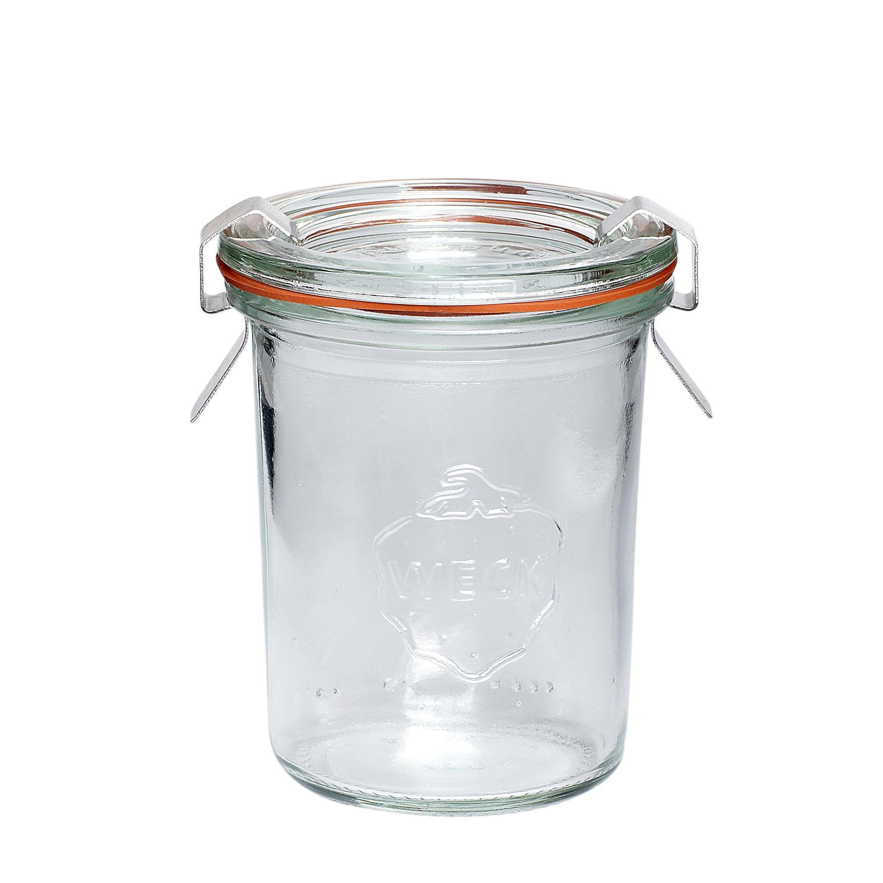 Hübsch Skleněná dóza Weck 160 ml, čirá barva, sklo