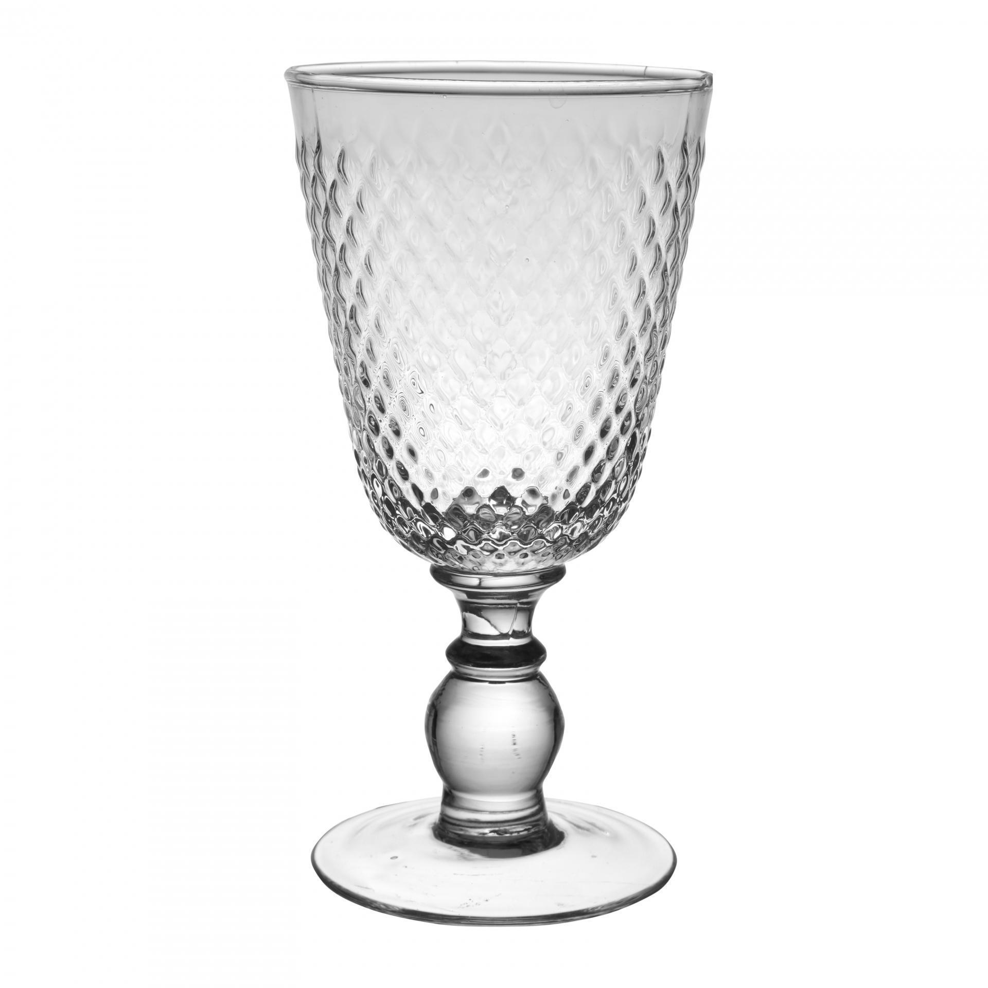 CÔTÉ TABLE Sklenička na víno Verre, čirá barva, sklo