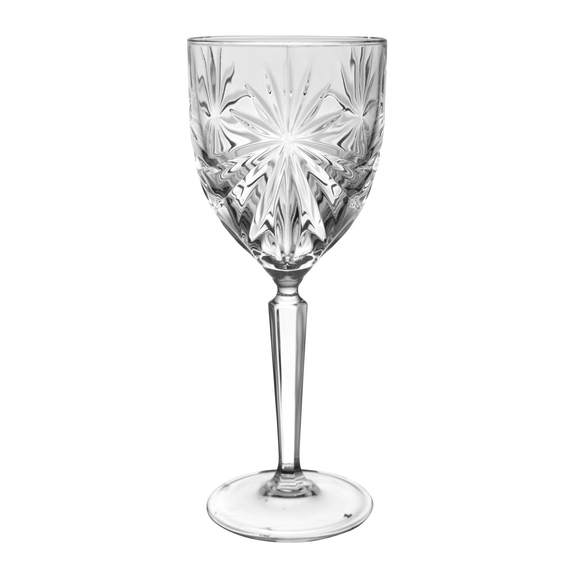 CÔTÉ TABLE Sklenička na víno Oasis 200ml, čirá barva, sklo