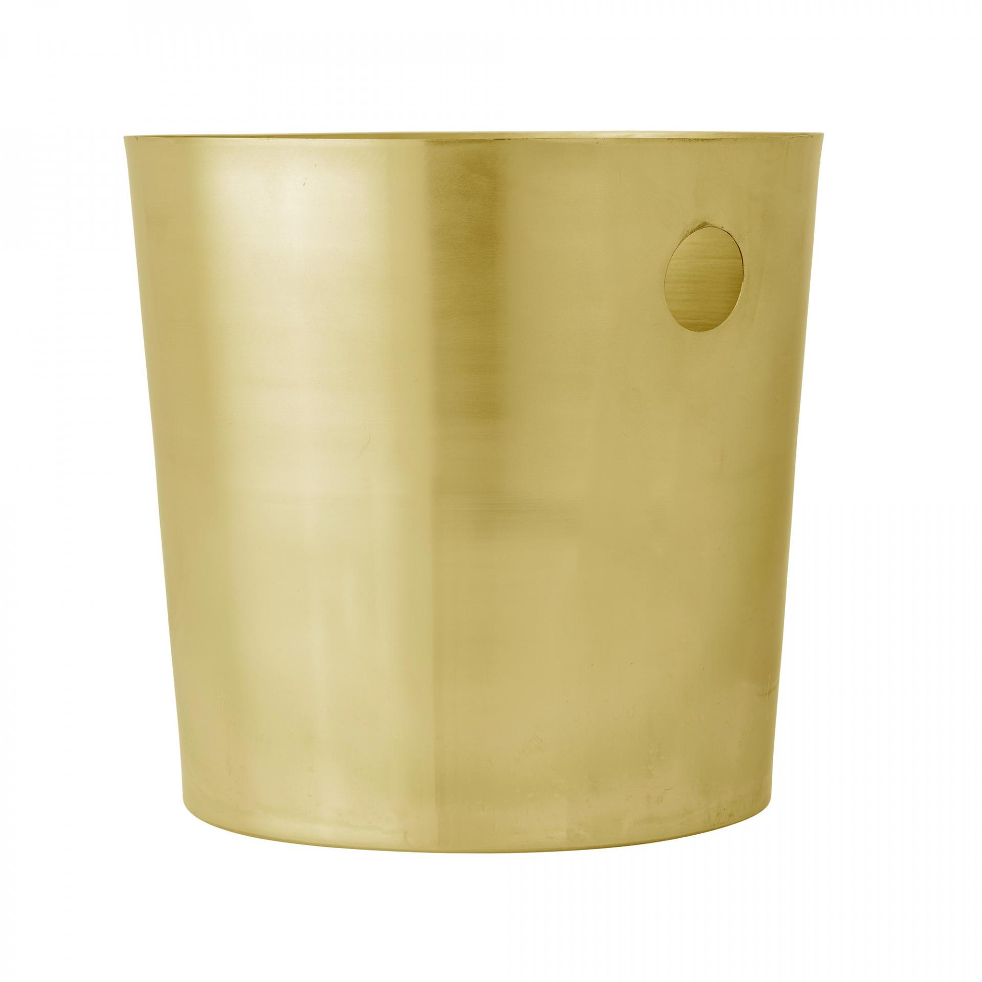 Bloomingville Chladicí nádoba na nápoje, zlatá barva, kov