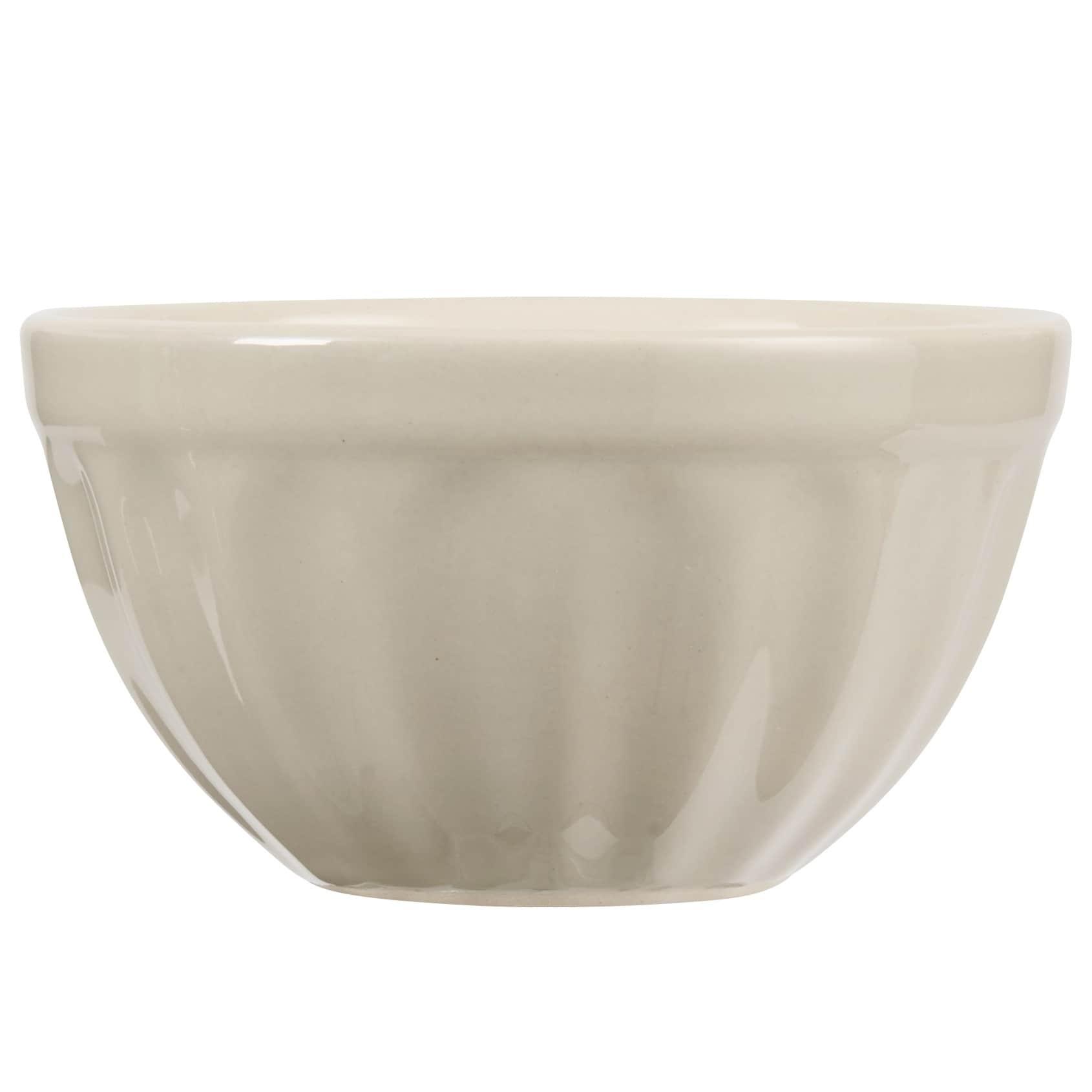 IB LAURSEN Miska na müsli Mynte latte, béžová barva, keramika