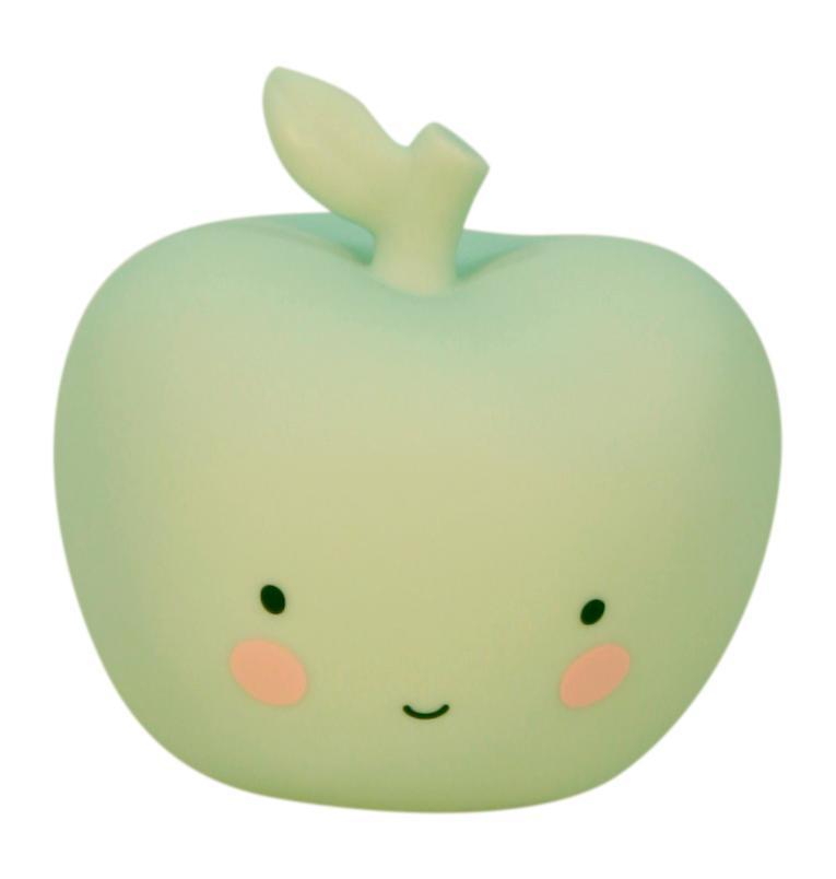 A Little Lovely company Noční LED lampička Mint Apple