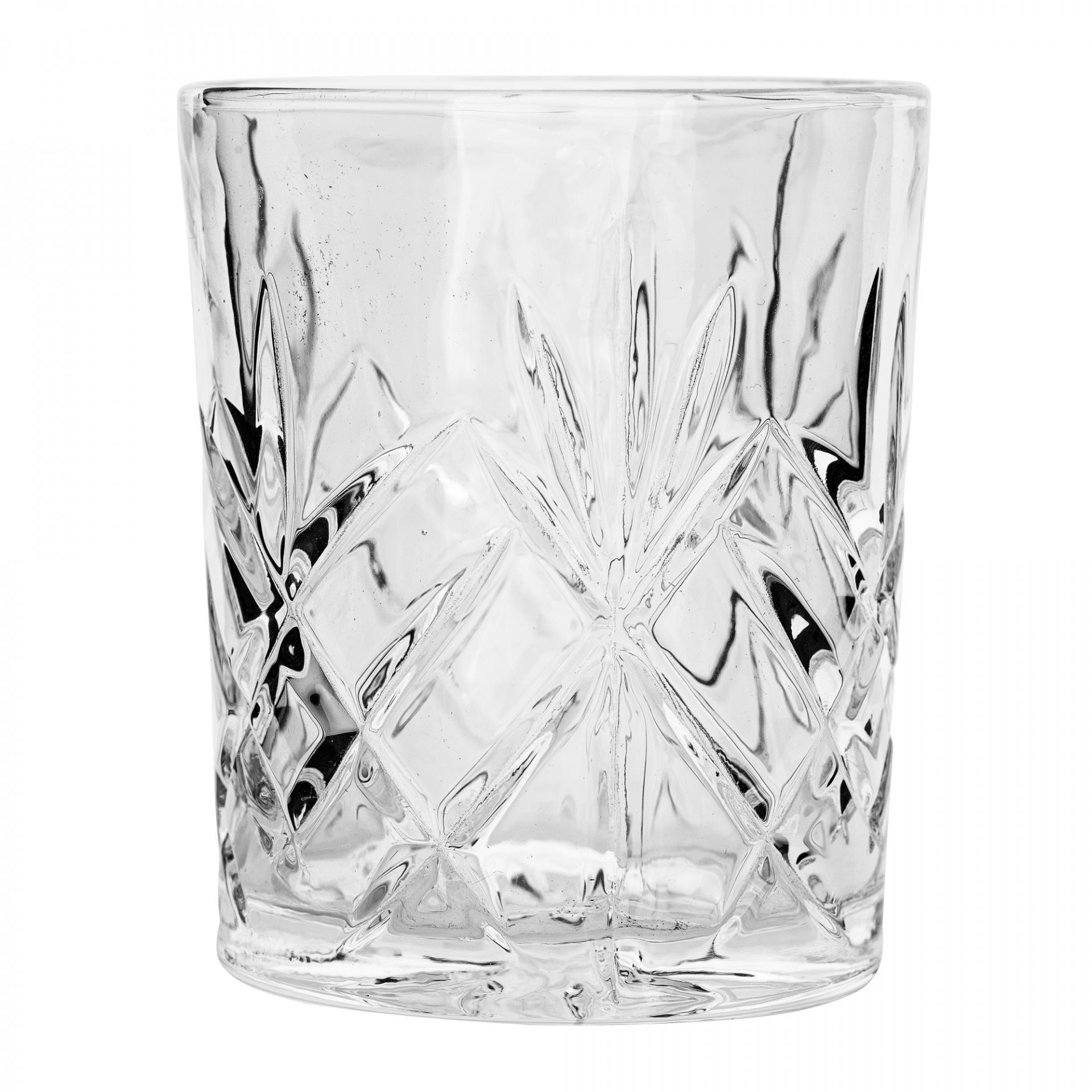 Bloomingville Sklenička Crystal 10 cm, čirá barva, sklo