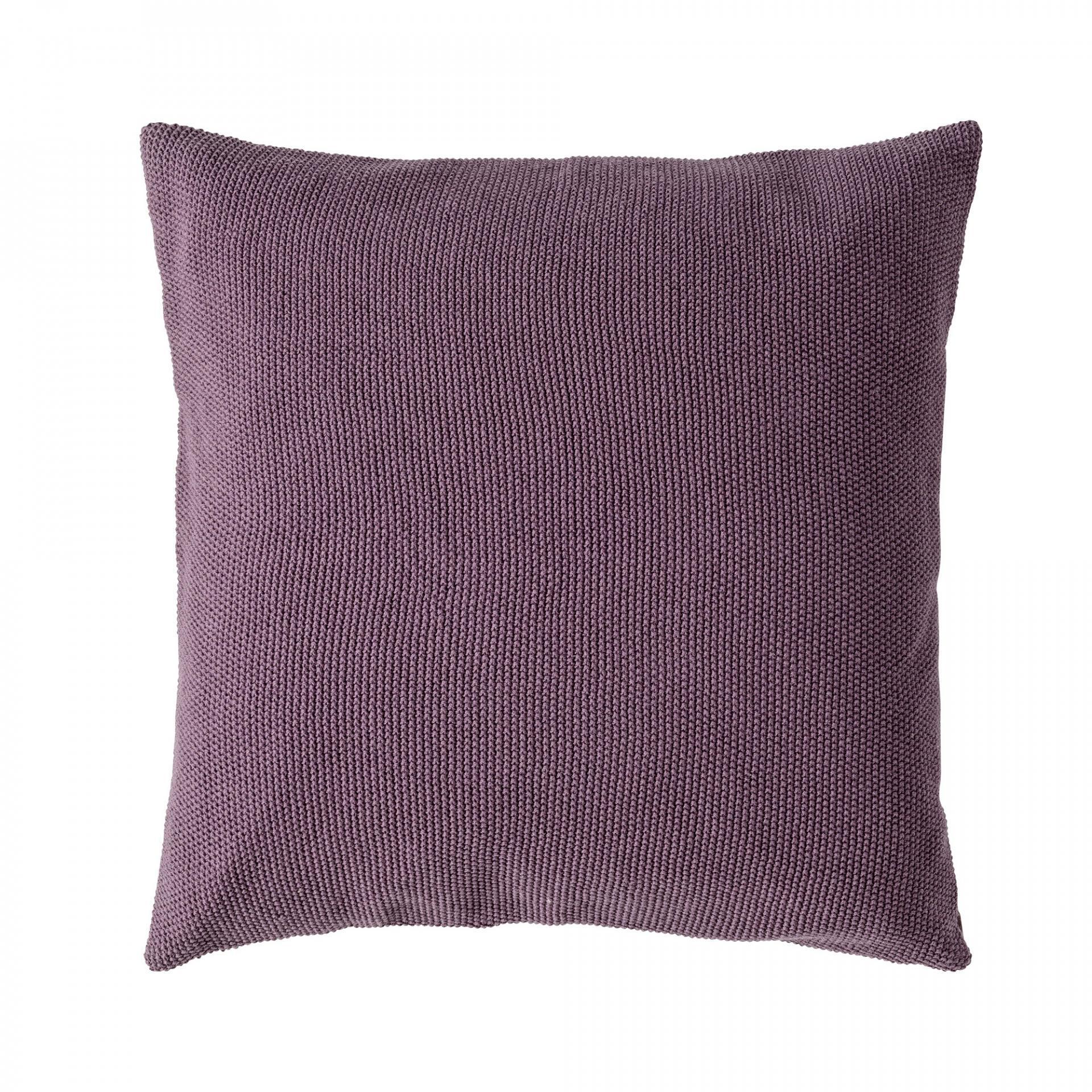 Bloomingville Polštář Dark Plum 45 x 45 cm, fialová barva, textil