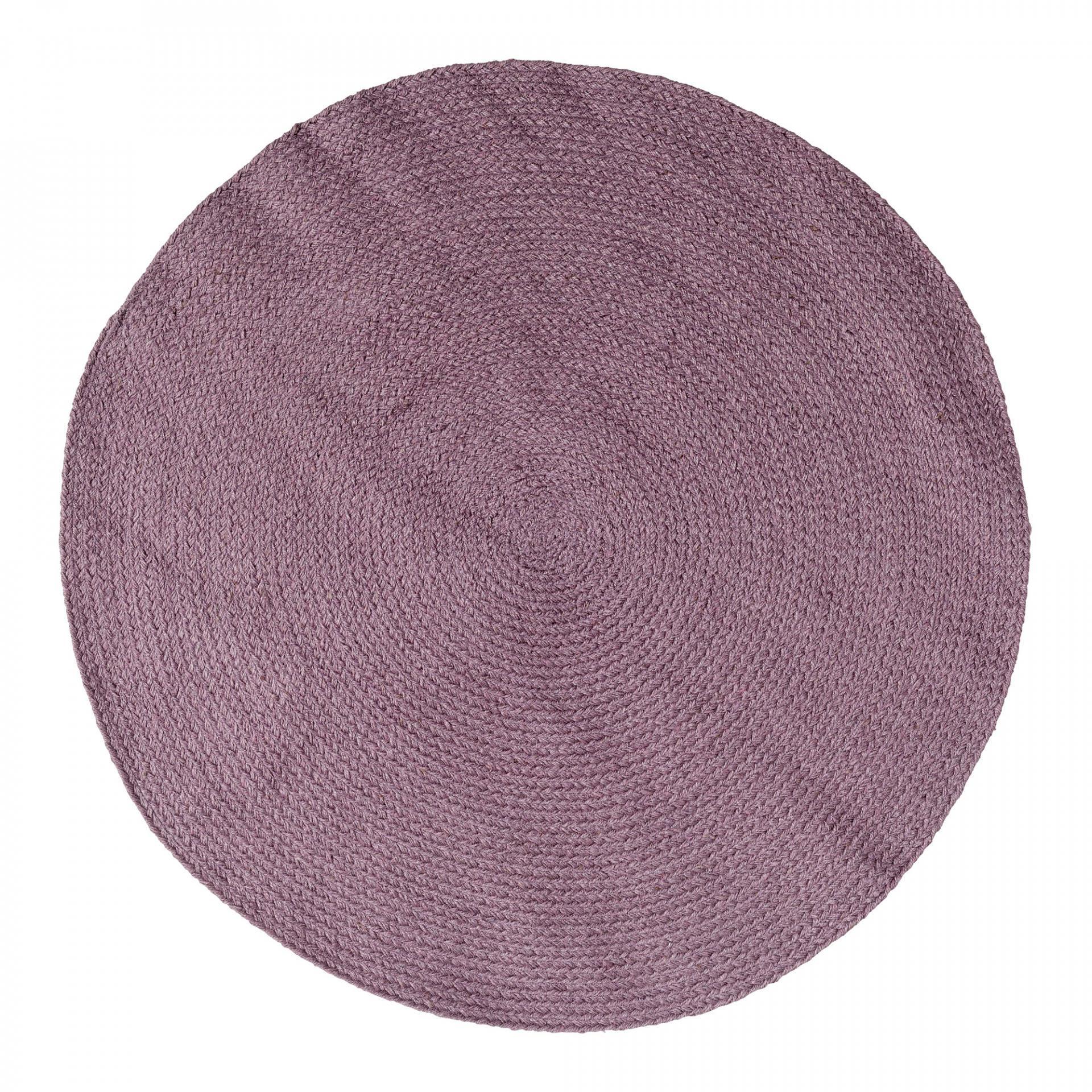 Bloomingville Jutový koberec Dark Plum