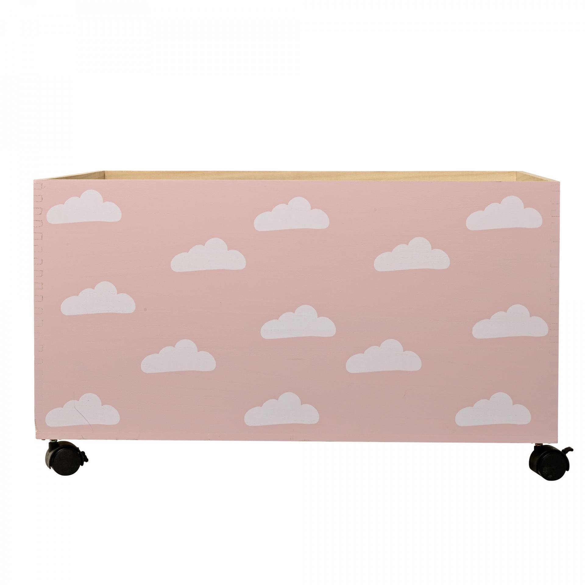 Bloomingville Úložný box na kolečkách Nature/Nude Clouds