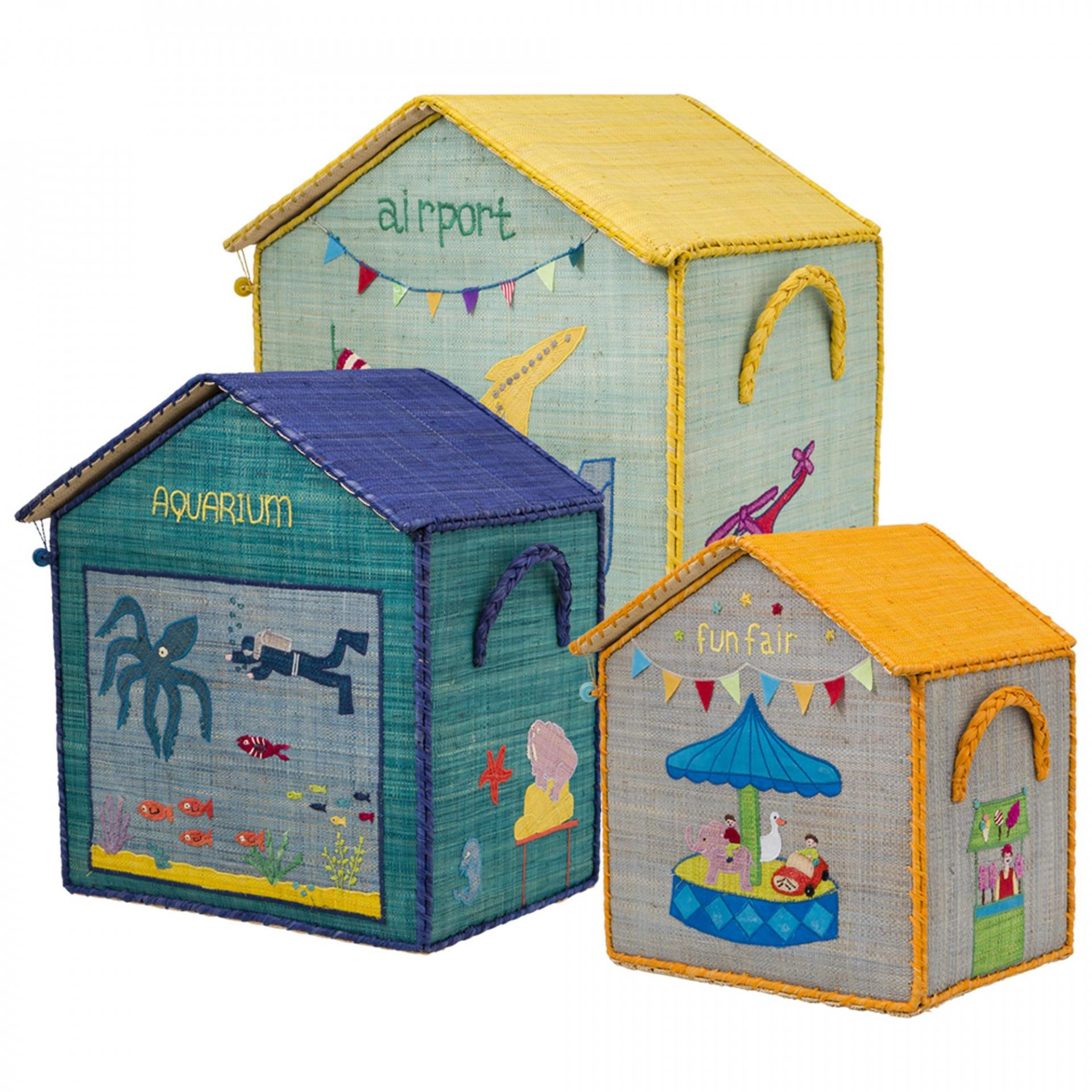 Rice Dětský úložný box House of Toys Varianta 2