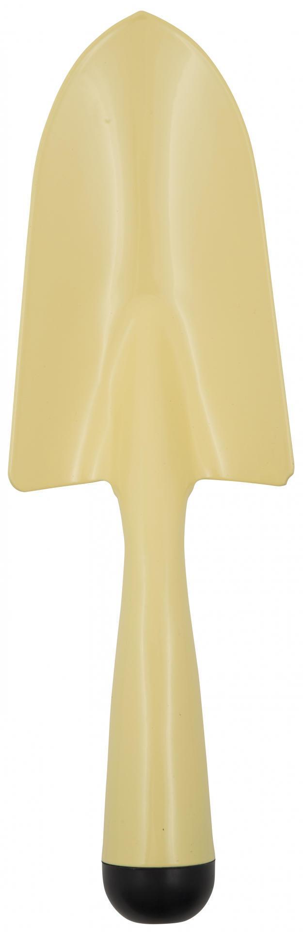 IB LAURSEN Zahradní lopatka Yellow, žlutá barva, zinek