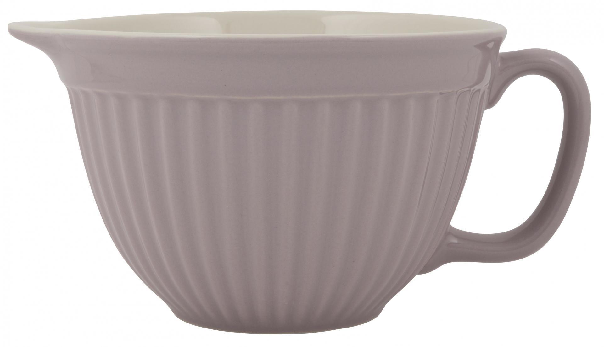 IB LAURSEN Mísa na těsto Mynte Lavender haze, fialová barva, keramika