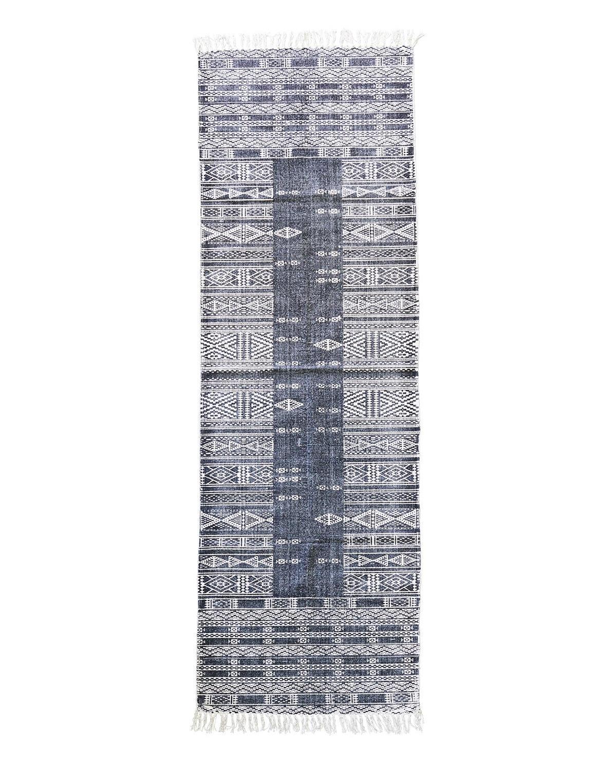 House Doctor Koberec Julia 160x230 cm, černá barva, textil Černá