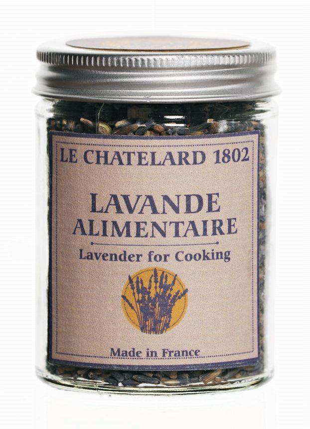 LE CHATELARD Sušená levandule na vaření 13 gr, fialová barva