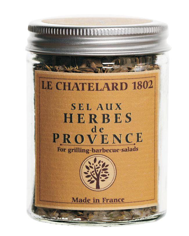 LE CHATELARD Sůl s provensálským kořením 60 gr, multi barva