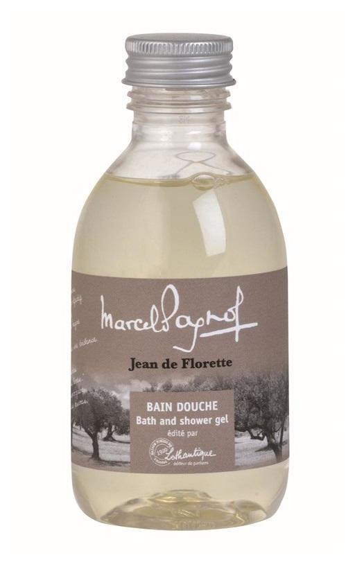 Lothantique Sprchový gel Jean de Florette 200 ml, béžová barva, plast