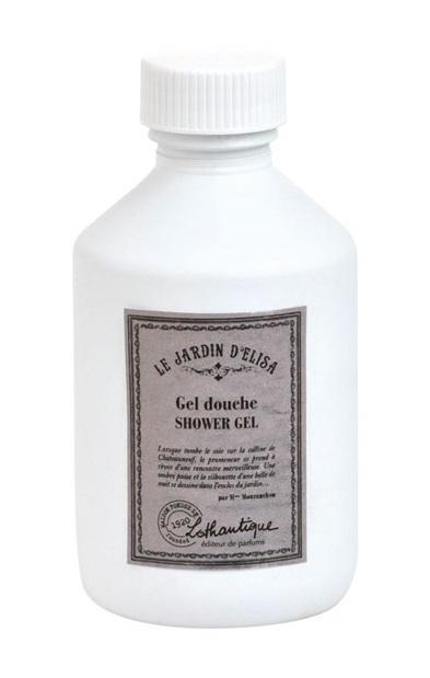 Lothantique Sprchový gel Le Jardin d'Elisa 200 ml, bílá barva, plast