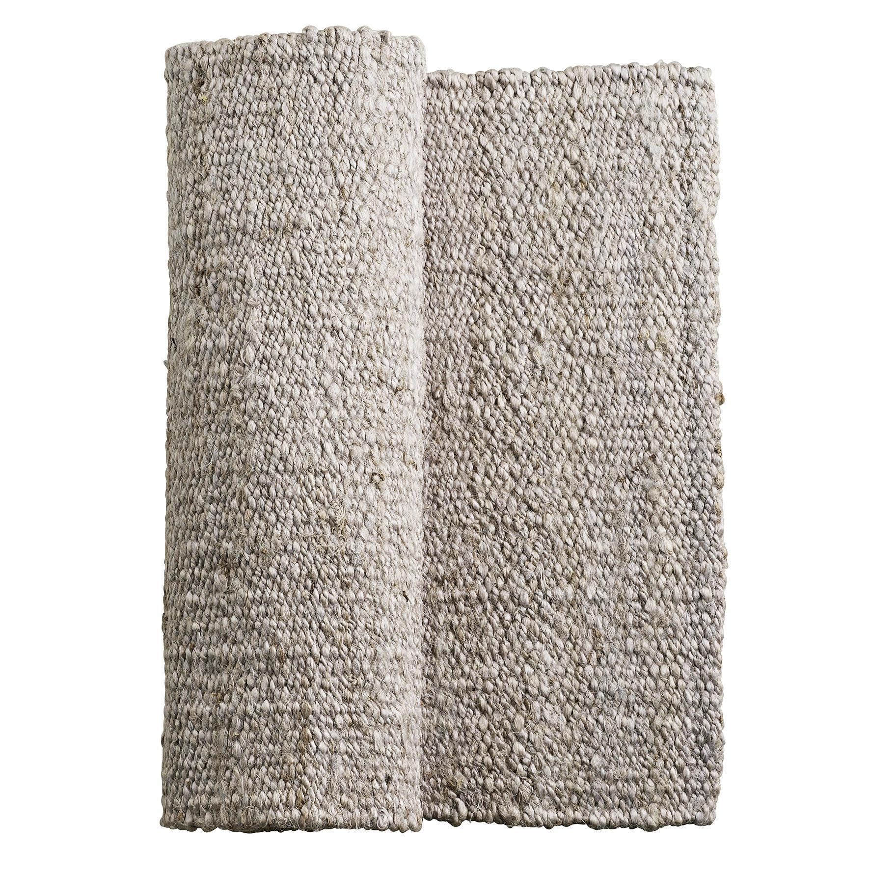tineKhome Jutový koberec Kit 80x120 cm, béžová barva, textil