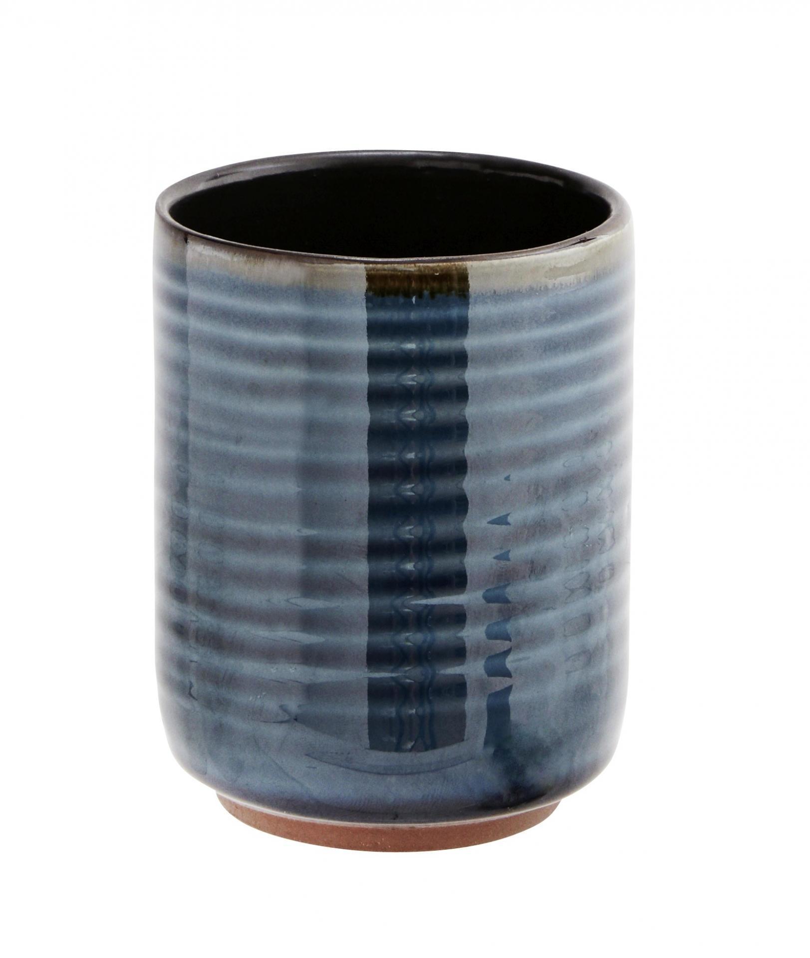 Madam Stoltz Keramický hrnek Pottery Blue
