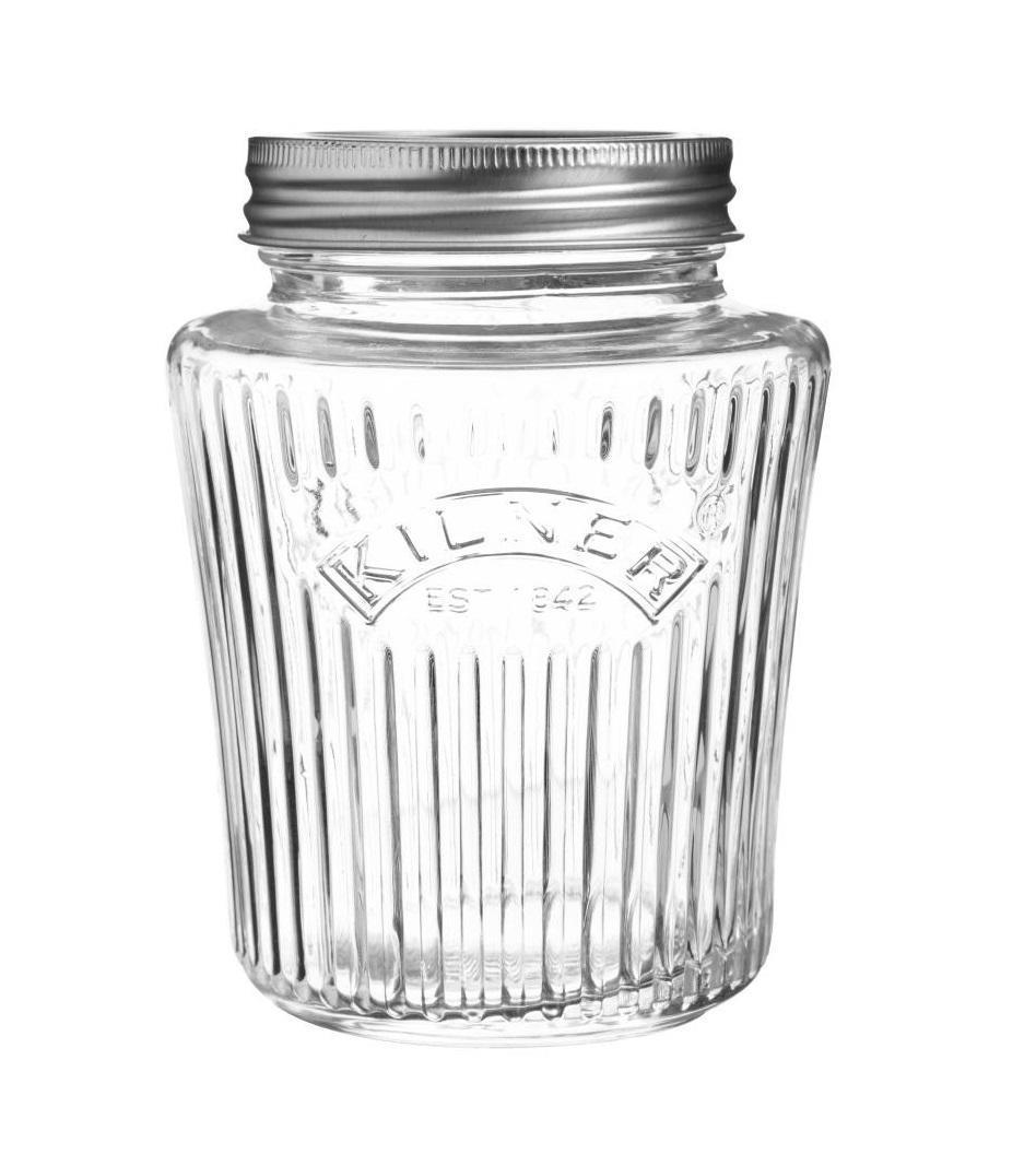 KILNER Vroubkovaná zavařovací sklenice 500 ml