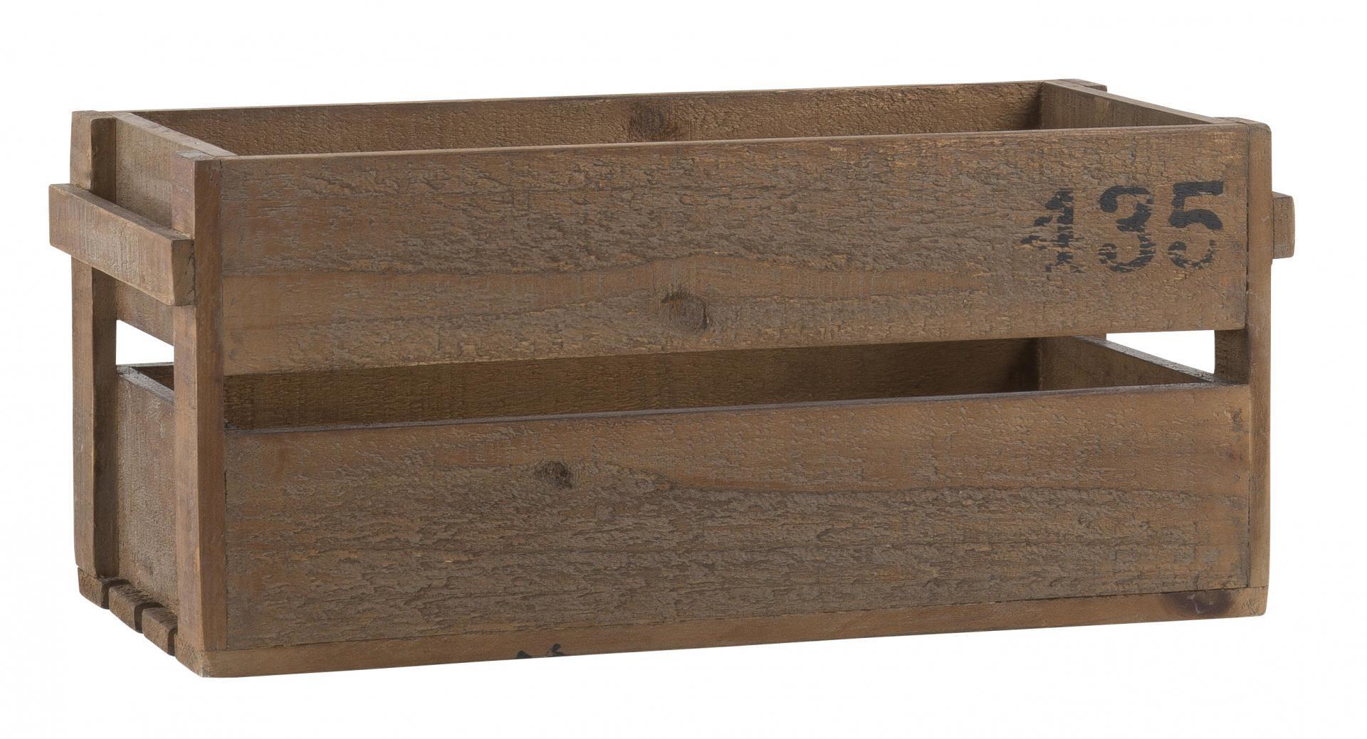 IB LAURSEN Dřevěná bedýnka 435