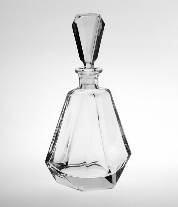 CRYSTAL BOHEMIA Křišťálová karafa Brilliancy Crystal BOHEMIA 0,4 l, čirá barva, sklo