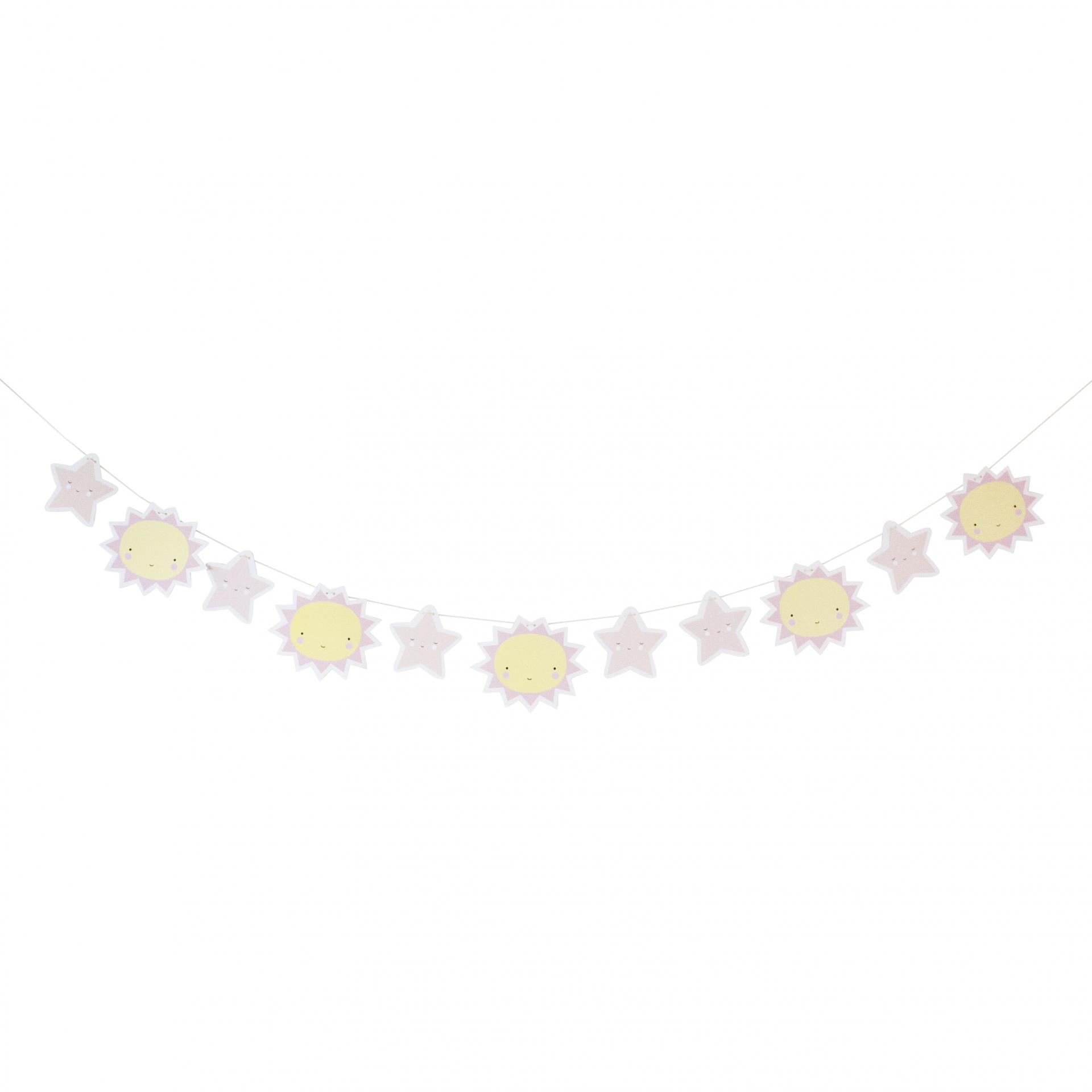 A Little Lovely company Dětská papírová girlanda Miss Sunshine