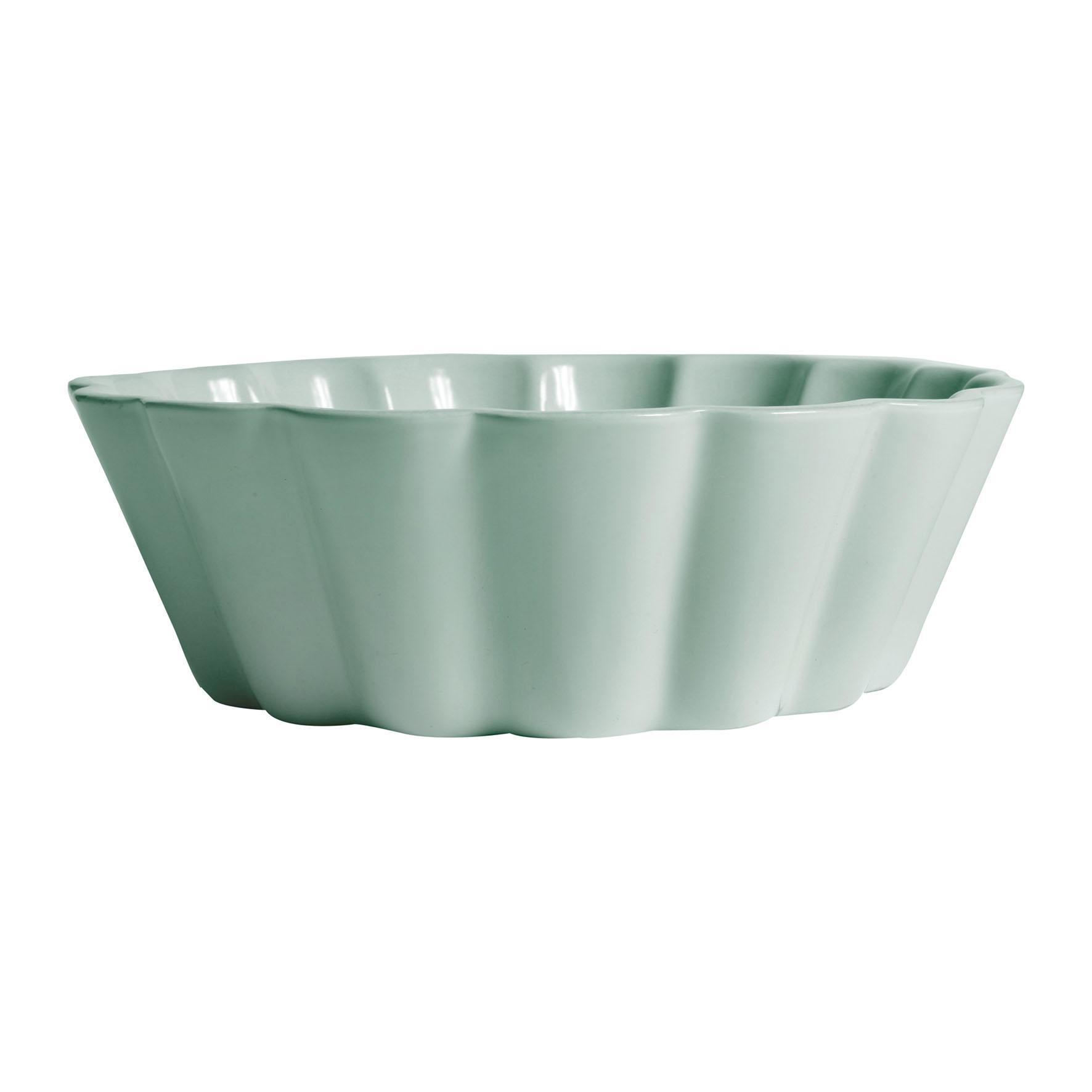 CÔTÉ TABLE Zapékací mísa Lisea vert 21 cm, zelená barva, keramika