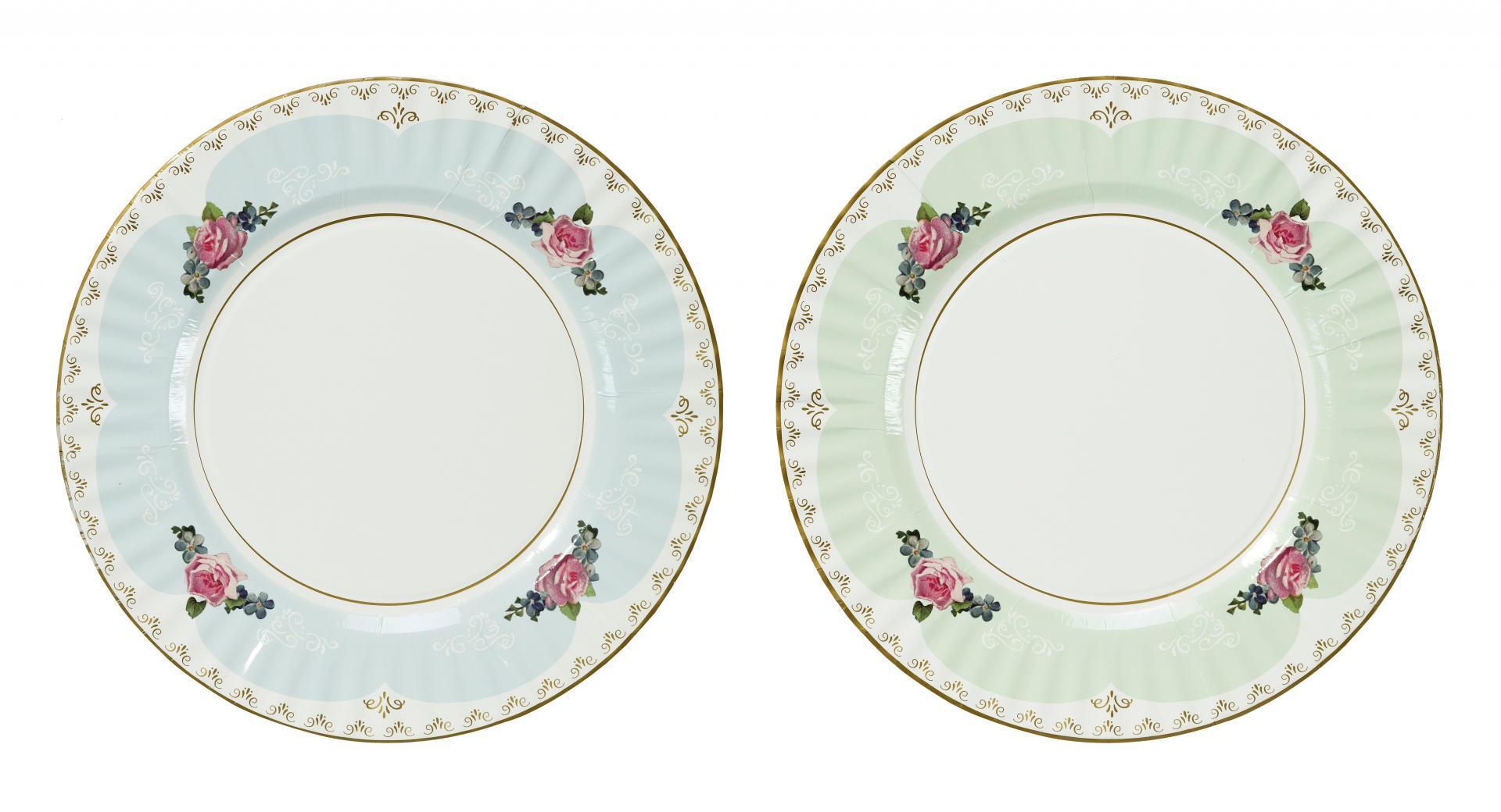 Talking Tables Velké papírové talíře Truly Scrumptious - set 8 ks