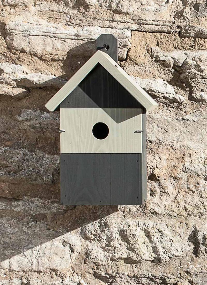 Garden Trading Dřevěná ptačí budka Orkney, hnědá barva, dřevo