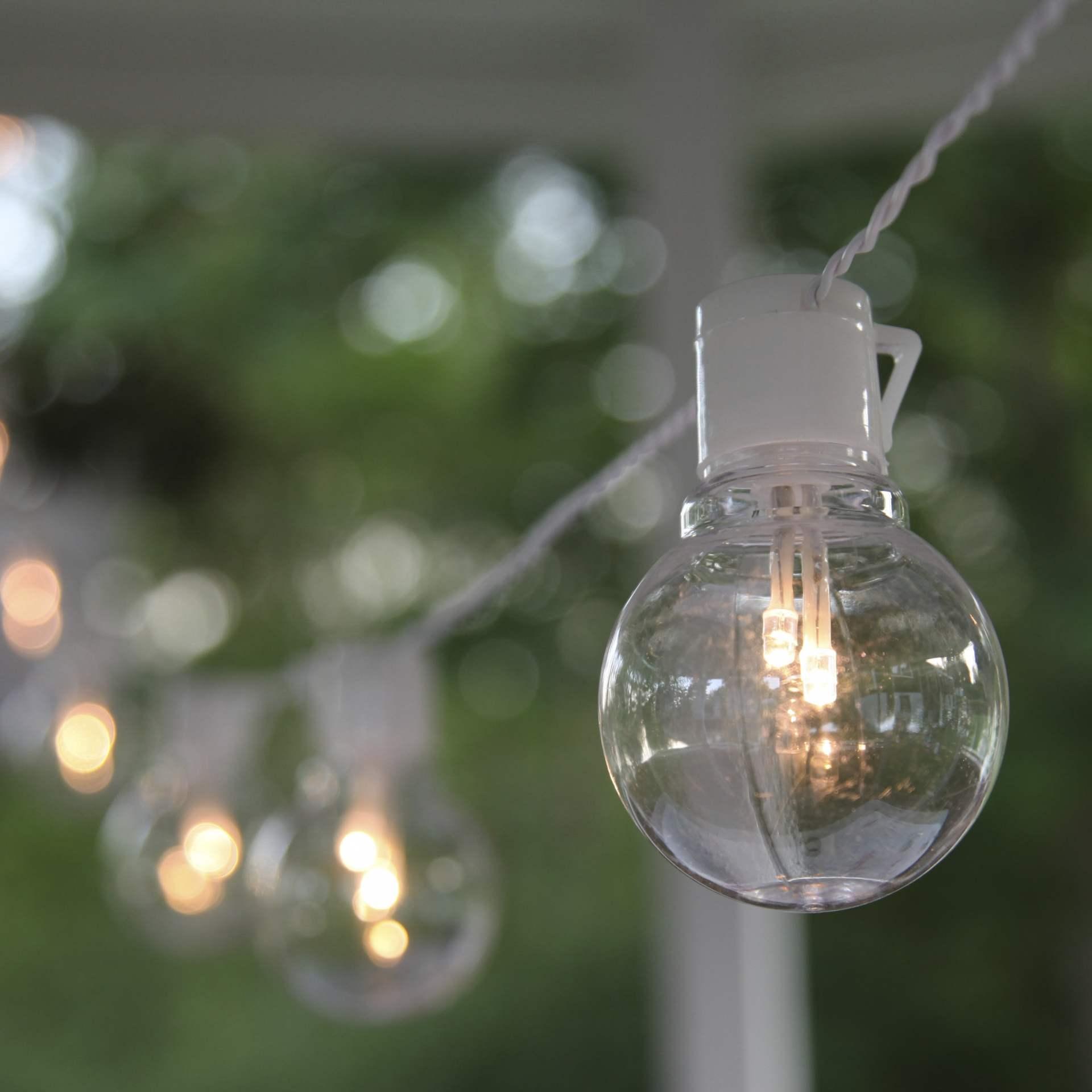 Star Trading Světelný LED řetěz White - 16 žárovek