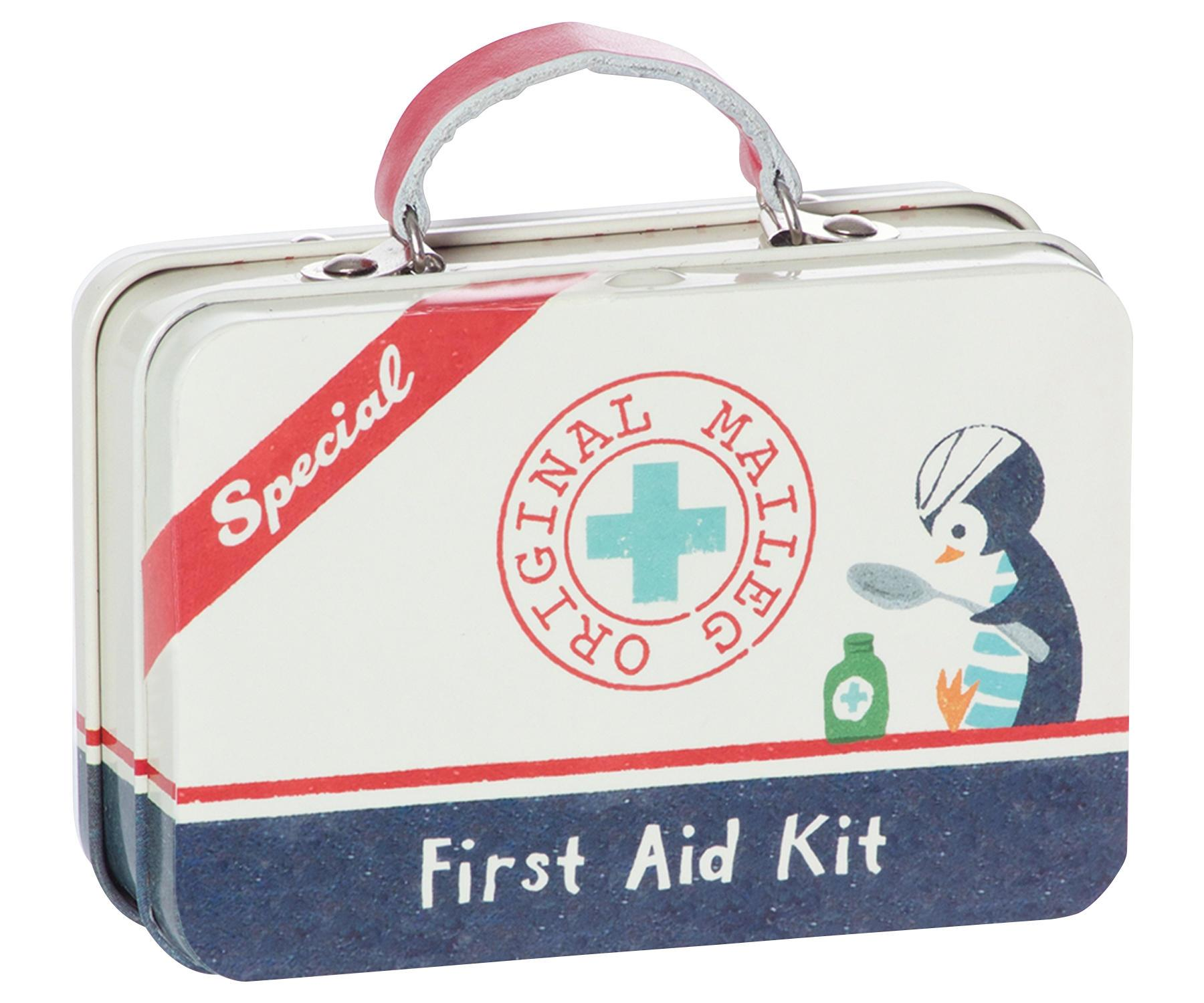 Maileg Plechový mini kufřík First Aid, multi barva, kov